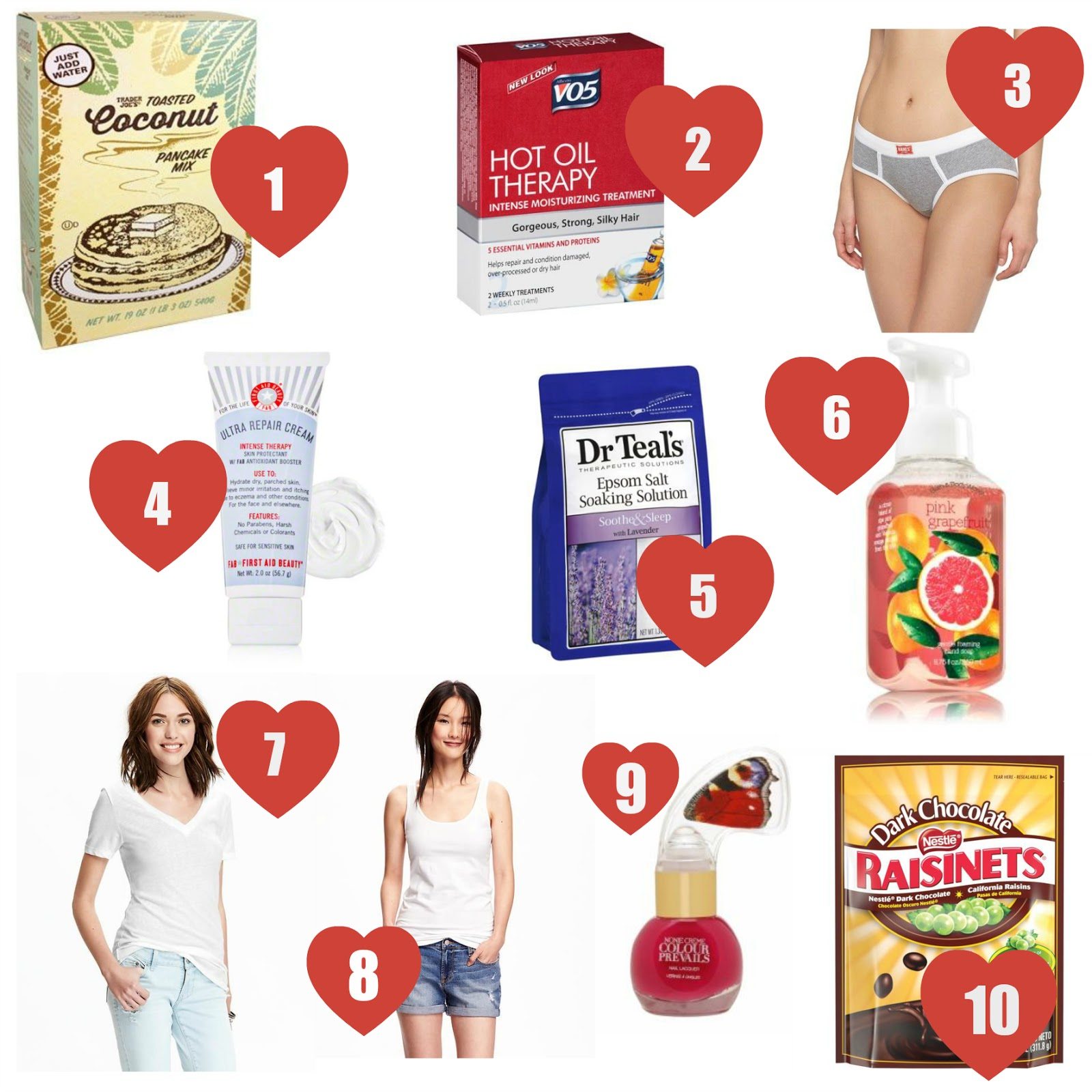 10 under $10 for Valentine's Day | all dressed up with nothing to drink...