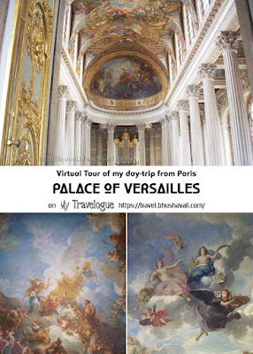 Virtual Tour of my daytrip from Paris to Palace of Versailles Pinterest