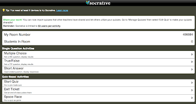 Using Socrative in Class