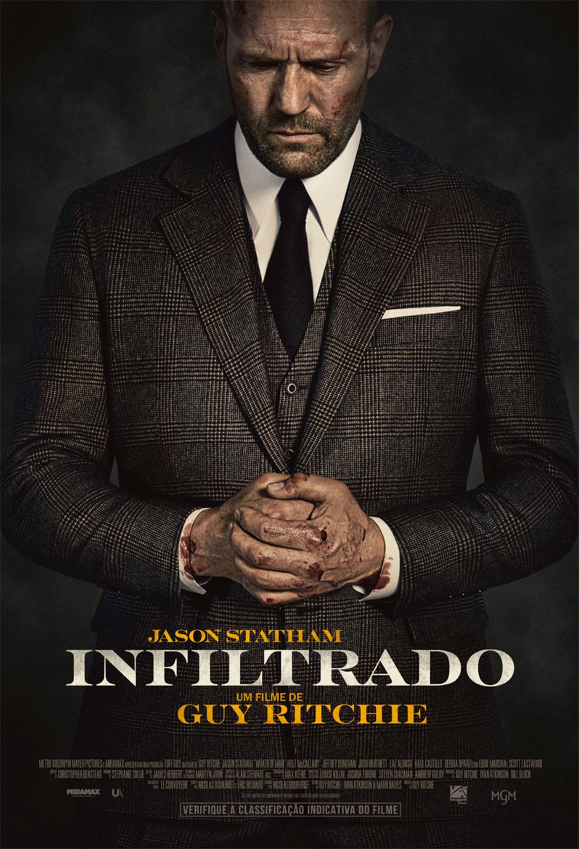 Jason Statham está em busca de vingança no trailer de 'Infiltrado'