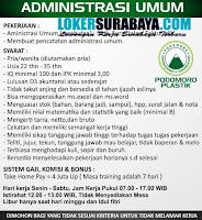Info Lowongan Kerja di UD. Podomoro Plastik Gresik Oktober 2020