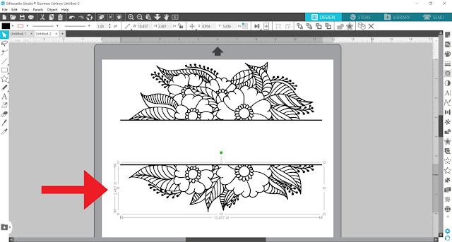 split monogram, monogram, custom designs, silhouette studio v4, silhouette studio