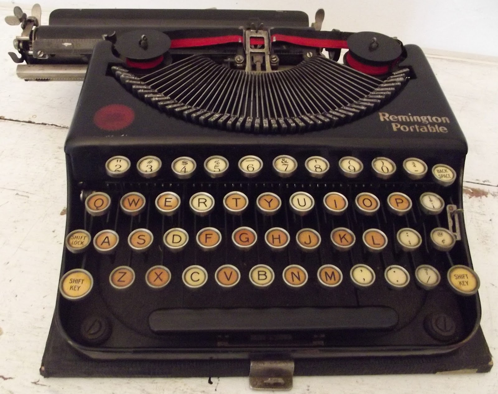 machine ecrire remington portable collector rare 1930 typewriter. Black Bedroom Furniture Sets. Home Design Ideas