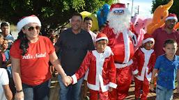 Prefeito Zezinho Barbary e equipe promovem maior festa de Natal da história de Porto Walter