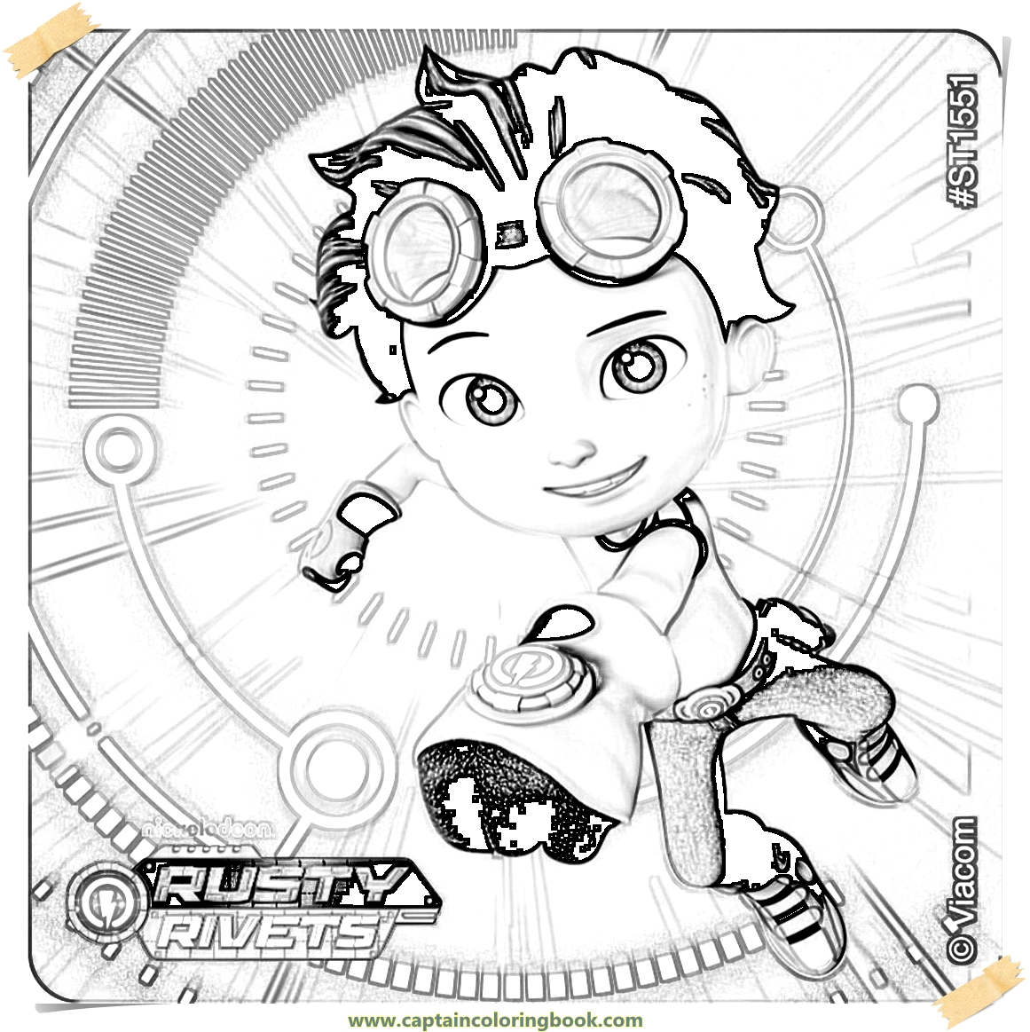 Rusty Rivets Coloring Pages: Your SEO Optimized Title