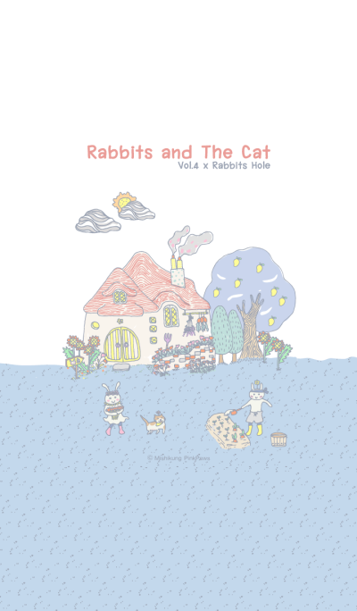 Rabbits and The Cat Vol.4 x Rabbits Hole