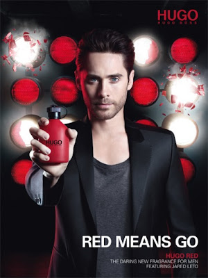 jared leto hugo red fragrance for men