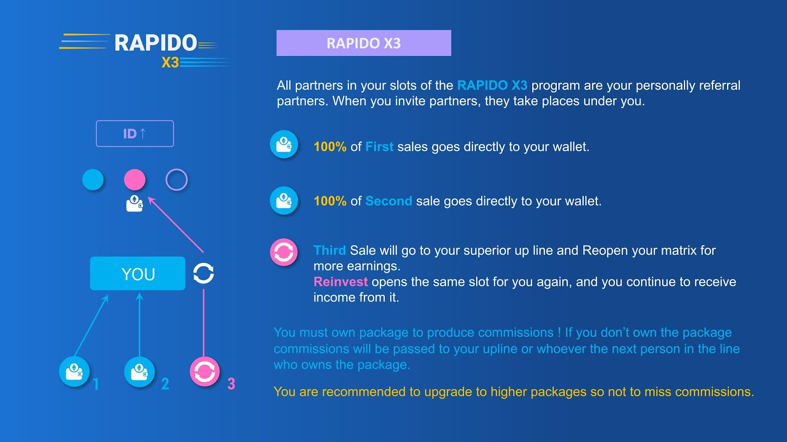 Rapido run smart contract x3