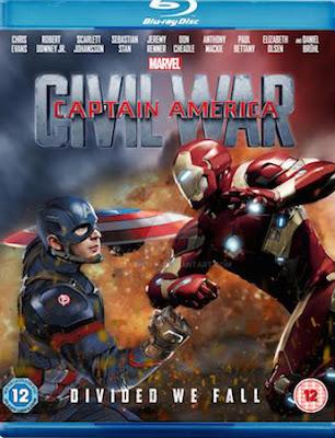 Captain America Civil War 2016 720p Bluray Dual Audio Hindi – 1.93GB