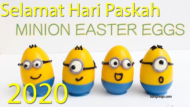 Selamat Hari Paskah 2020 - Minion Version