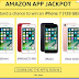 Win I Phone 7 For Free: Amazon Jackpot contest