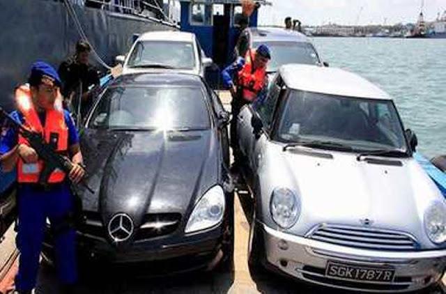 Ungkap Pemilik Mobil Bodong (Ilegal) Asal Singapura Polda Kepri Lakukan Koordinasi Dengan BC Batam