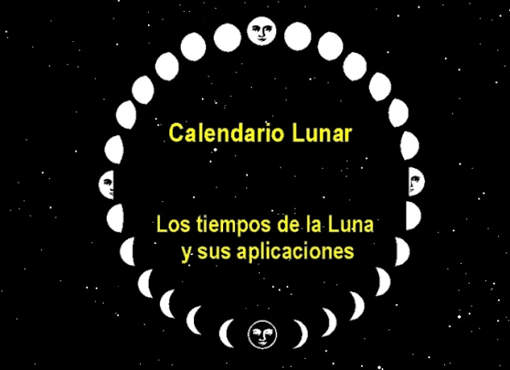 Calendario lunar for Almanaque de la luna