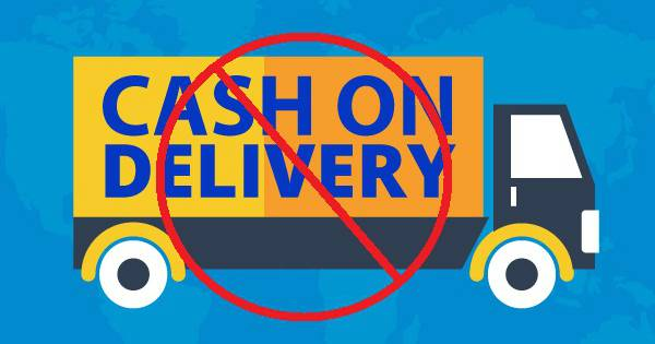Disables Cash on Delivery Option Temporarilyin india