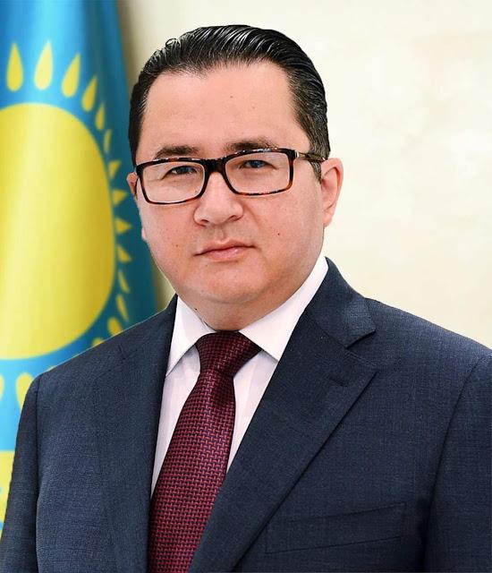 قبل عودته  الى بلاده   سفير كازاخستان : شكرا لمصر المحروسة