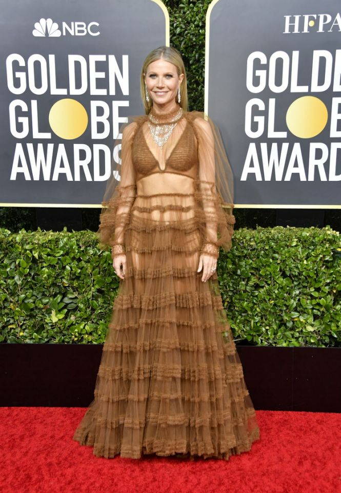 Gwyneth Paltrow In Fendi – 2020 Golden Globe Awards