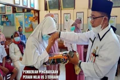 Penyerahan Siswa Kelas 6 Tahun Pelajaran 2020/2021 Ke Orang Tua Wali Murid Ala SDN Kabuaran Kunir Lumajang