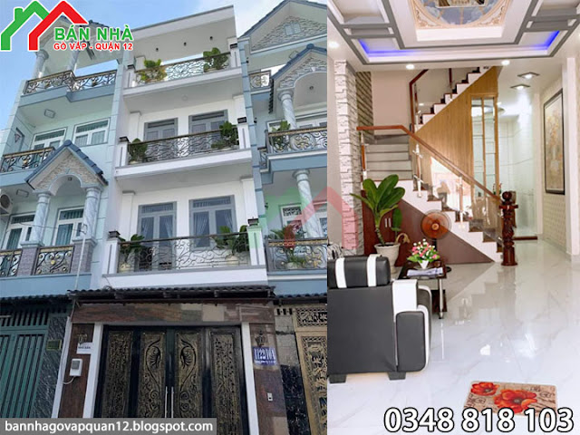 Nhà hẻm 1122 Quang Trung Gò Vấp