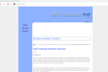 Source Code Sistem Informasi Akademik Kampus Berbasis Web Dengan Php Gratis