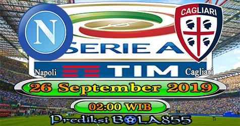 Prediksi Bola855 Napoli vs Cagliari 26 September 2019