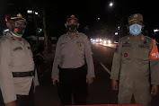 Kapospol Ketapang Iptu Bambang Gunaedi Lakukan Pengamanan Aksi Unjuk Rasa Omnibus Law