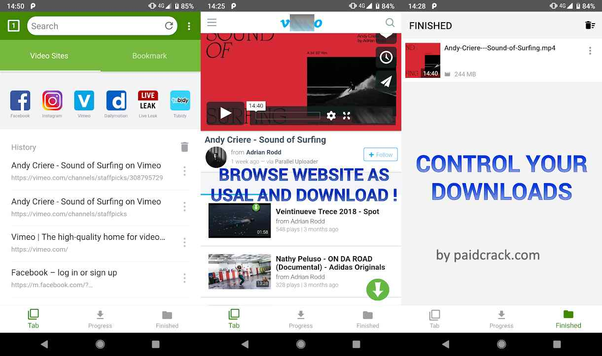 Video Downloader Paid Mod Apk 1.0