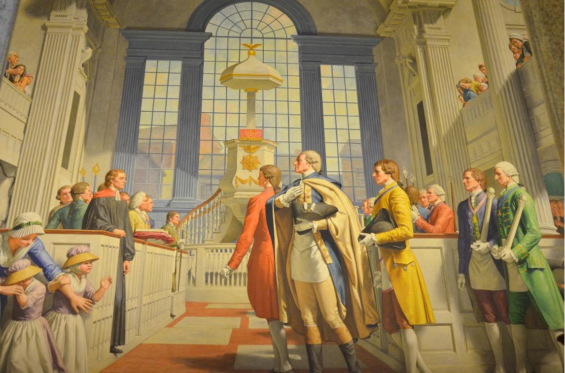 The Midnight Freemasons: The Magnificent George Washington