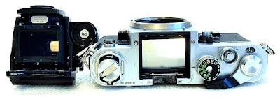 Nikon F2 Photomic A Body (Chrome) #047, DP-11 Prism Finder