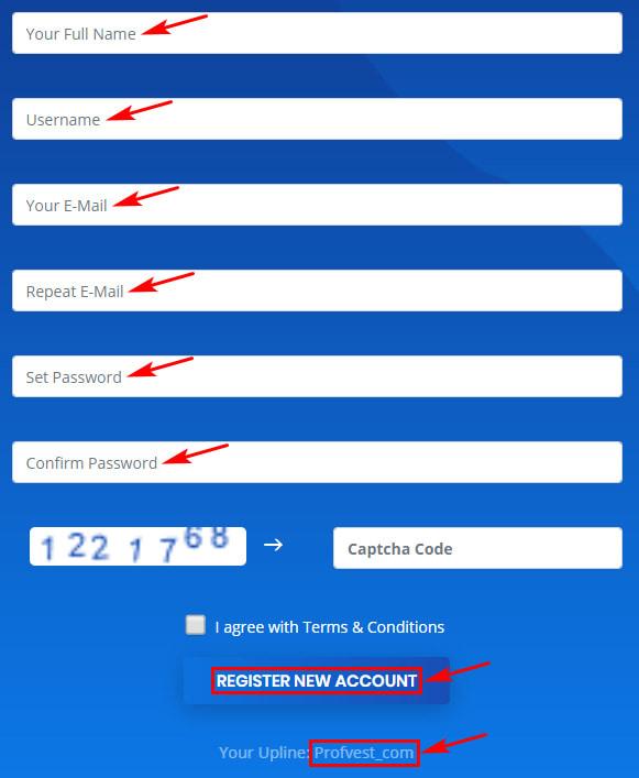 Регистрация в Laredo Limited 2