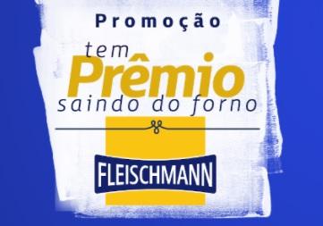 Cadastrar Promoção Tem Prêmio Saindo do Forno Fleischmann 2021