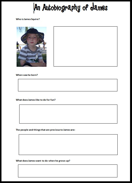 Search results for biography book report for kids for Sample biography template for students