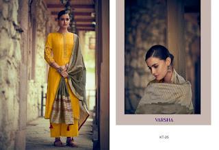 Varsha Fashion Katha Vol 2 Kora Silk Salwar Suit in Wholesale