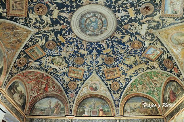 Cámara de San Paolo, o Camera della Badessa, Parma