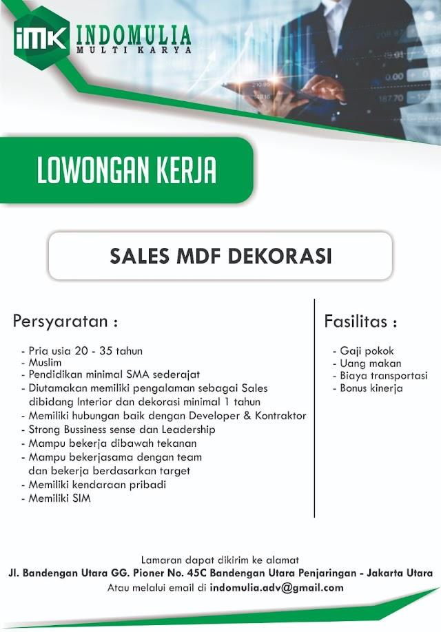 Lowongan Kerja Sales untuk Produk Advertising di Jakarta Utara