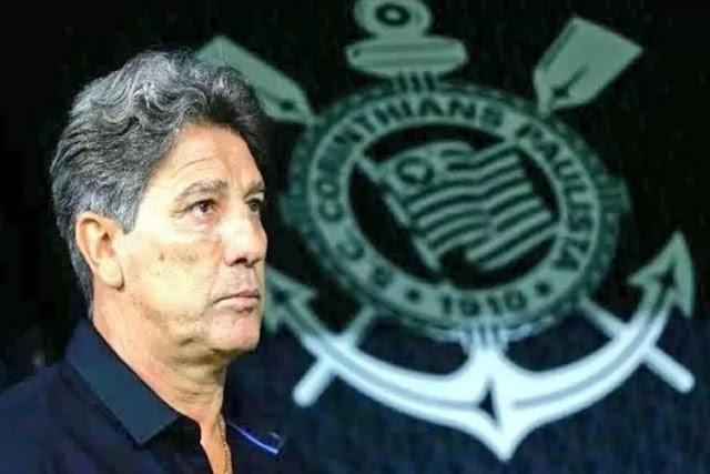 Corinthians apresenta projeto para Renato Gaúcho e aguarda resposta nesta semana