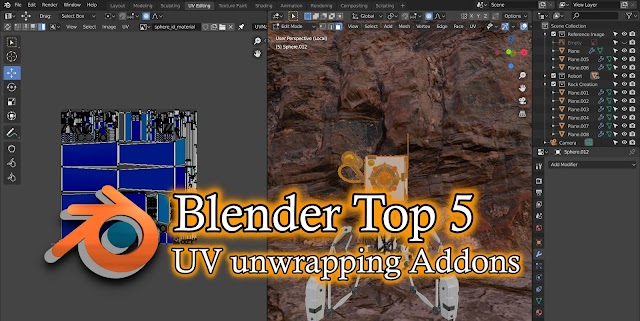 Blender's Top 5 External Addons For UV Unwrapping.