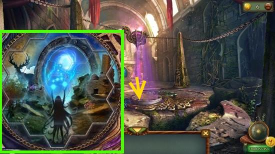 собираем изображение из осколков в игре наследие 3 дерево силы