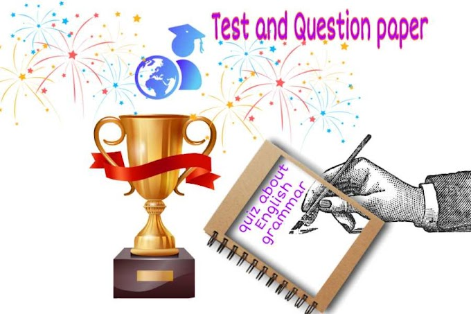 passage, poem comprehension and preposition quiz test work about communicate english