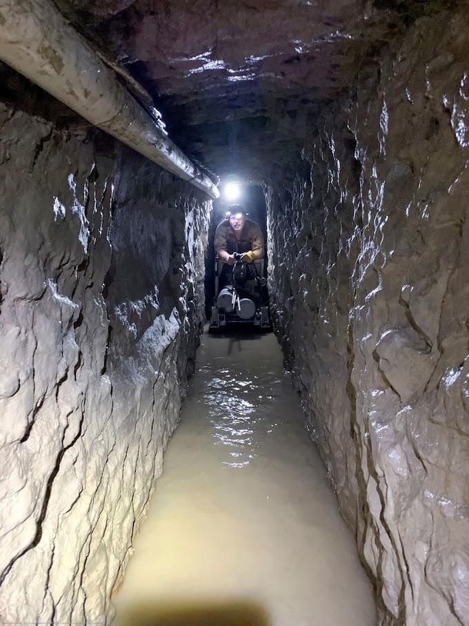 Autoridades dos EUA descobrem o mais longo túnel na fronteira sudoeste do país