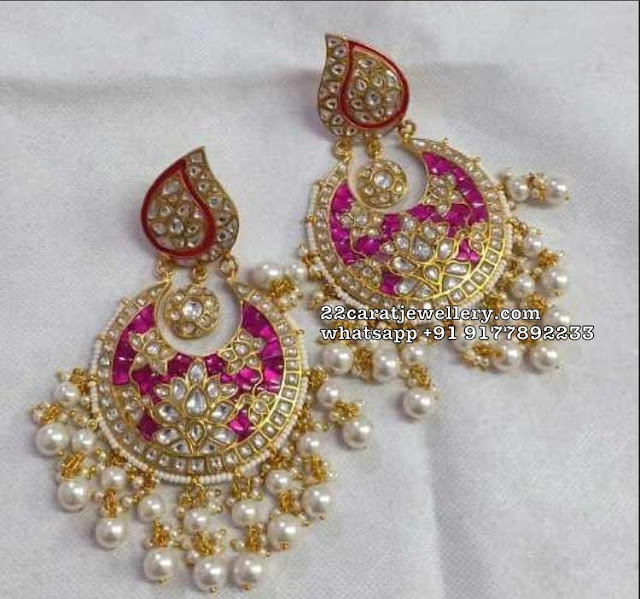 Heavy Latest Chandbalis in 925 SIlver