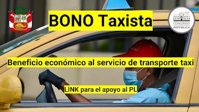 BONO para el TAXISTA durante la pandemia Covid19 LINK para el apoyo economico DS 080-2020-PCM