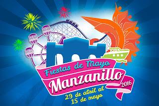 palenque fiestas de mayo manzanillo 2016