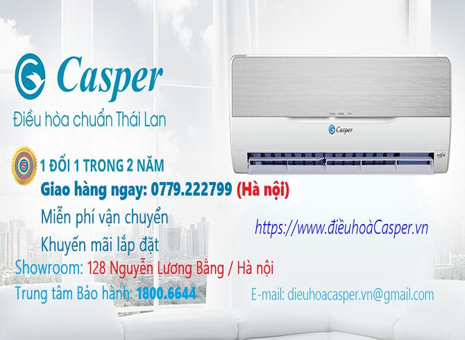 Điều hòa Casper tạ Hà Nội