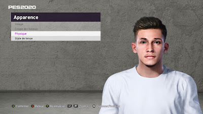 PES 2020 Faces Nabil Touaizi by TiiToo