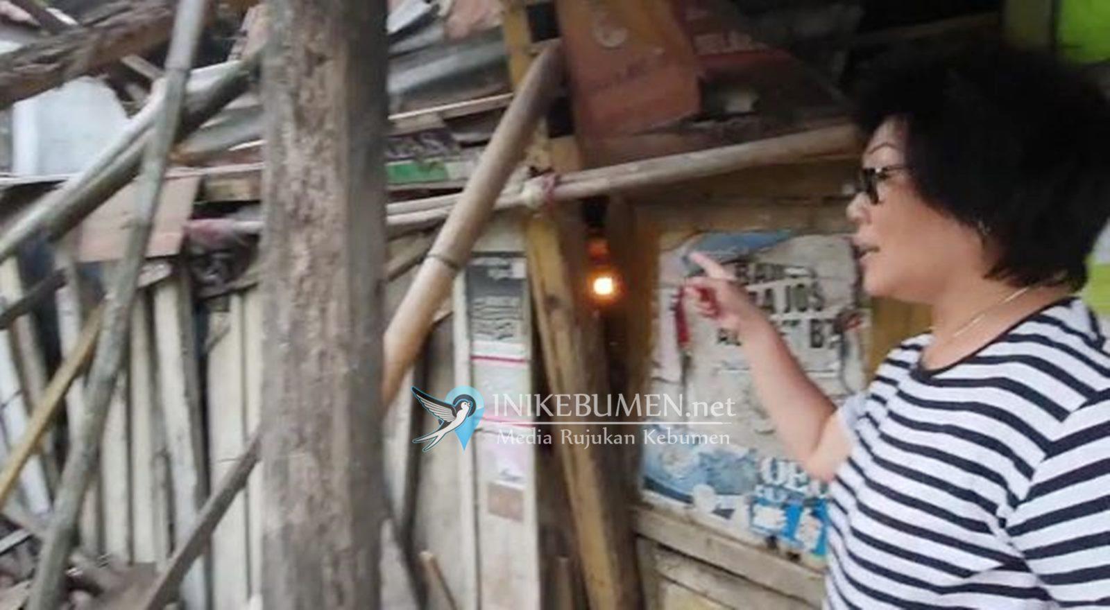 Nyaris Ambruk, Rumah Penderita Stroke di Gombong Bakal Direhab PMTSI Kebumen