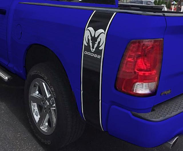 bed-black-stripe-dodge-ram-truck