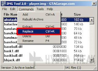 Cara mengganti berkas dengan IMG Tool 2.0 - 2