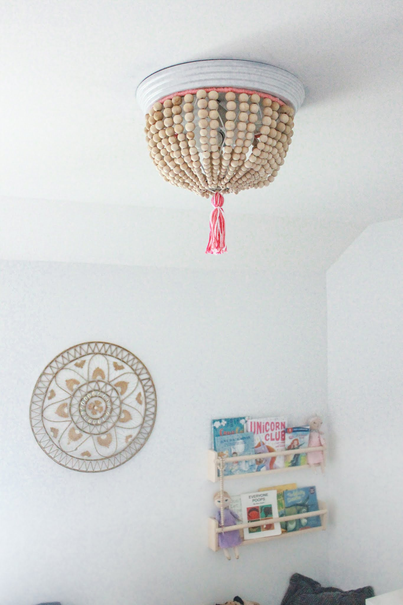 How to Make Your Own Beaded Chandelier - For Under $100!