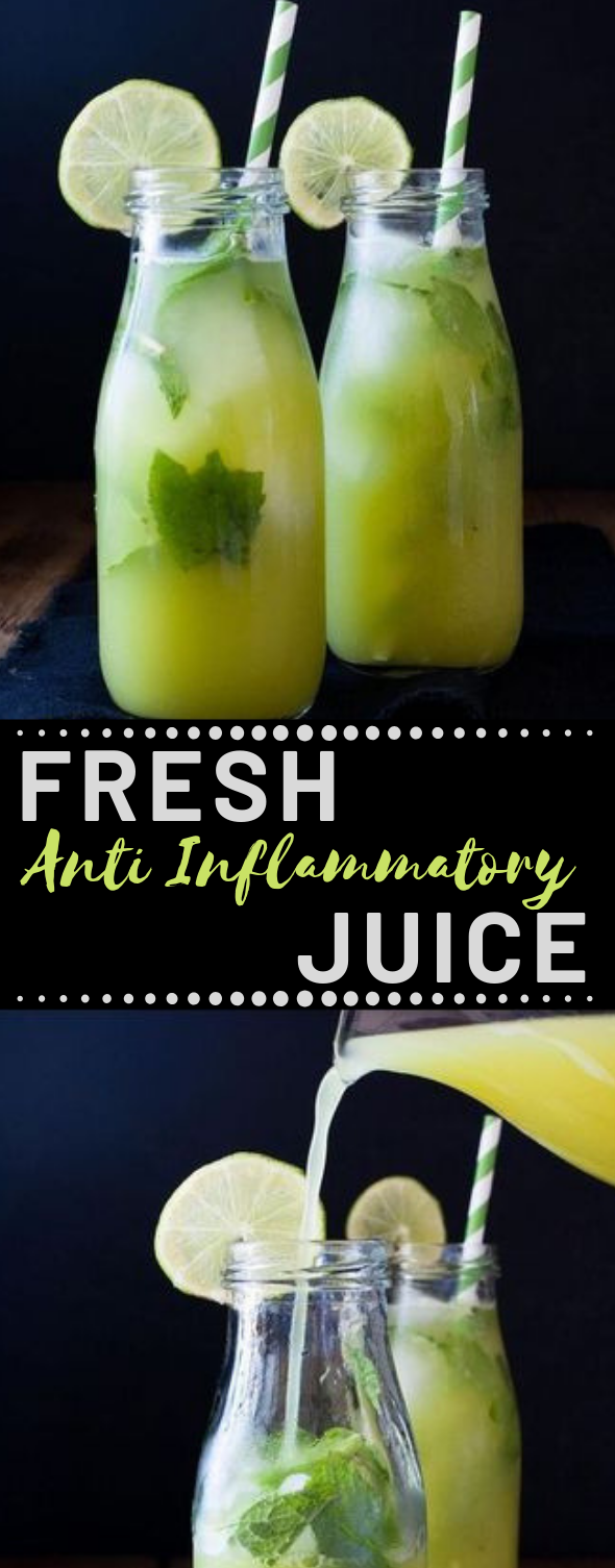 FRESH ANTI-INFLAMMATORY JUICE #juice #drink #delicious #freshdrink #sangria