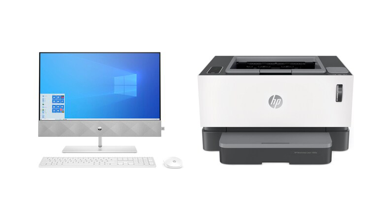 HP is giving away FREE Neverstop 1000a Laser Printers for every HP Desktop PCs purchase